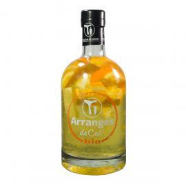 Rhum Arrangé Ti-Ced Orange Citron Bio - Coffret 1 bouteille